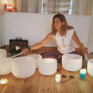Healing crystal bowls was een succes